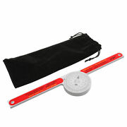 Replace Starrett Miter Saw Protractor 505p-7 Laser Engraved Dial Scale Angle Red