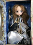 Pullip Doll Zappa Cute And Mature Black And Silver Dress Curly Hair