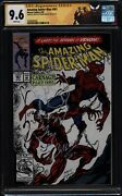 Amazing Spider-man 361 Ss Cgc 9.6 Signed And Sketch By Mark Bagley 1st Carnage
