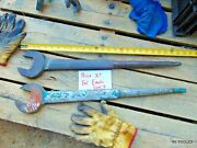 1 Armstrong Ironworker 1-3/16 Offset Spud Wrench 1211 Bridge Wrench 25 Long