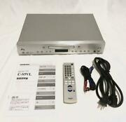 Onkyo C-s5vls Super Audio Sacd Cd Player Silver Home Audio Components Japan