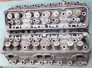 Oem Gm 3927186 Cylinder Heads Small Block Chevy Camel Hump 202/160 Valve Aug 68