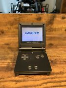 Gameboy Advance Sp - Black - Includes Carrying Case And Charger