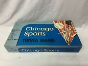 Vintage 1984 Chicago Sports Trivia Board Game Cubs Bears Sox Hawks Bulls And More