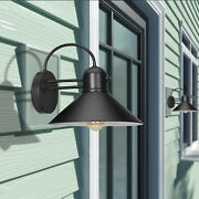 Dewenwils 2 Pack Dusk To Dawn Wall Light Fixture Outdoor Farmhouse Wall Sconce