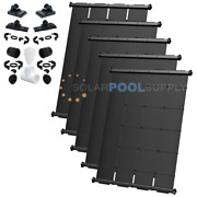 Swimjoy Industrial Grade Diy Solar Pool Heater Kit 190 Square Feet [5-4and039x9.5and039]