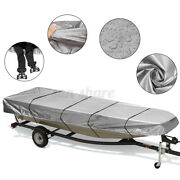 Trailerable Jon Boat Cover Waterproof 210d For 12ft-18ft L Beam Width Up To 75in