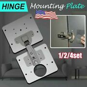 Hinge Repair Plate For Cabinet Furniture Drawer Window Stainless Steel Gv