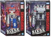 Transformers Siege War For Cybertron Hasbro Optimus Prime And Megatron Misb