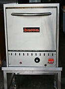 Gas Double Deck Pizza Oven Countertop Srpo-24g