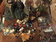 Playmobil Lot- Castle- Teepee- Lots Of People Accessories- Nice- 11 Pounds