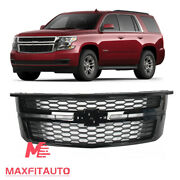 Fit For Chevy Tahoe Suburban 2015-2020 Front Upper Grille Assembly Aftermarket