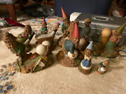 Lot Of 9 Tom Clark Gnomes Golf, Many W/ Certificates Of Authenticity, Cairn