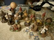 Lot Of 13 Tom Clark Gnomes, Baseball Many W/ Certificates Of Authenticity, Cairn