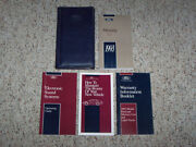 1993 Ford Mustang Owner Operator Manual Coupe Convertible Lx Gt Cobra 2.3l 5.0l