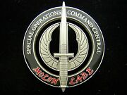 Special Operations Command Central Operations Detachment Sod Challenge Coin
