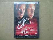 The X Files 1998 Wide Screen Fight The Future Dvd