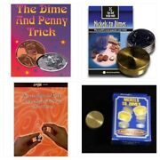 Nickels To Dimes And Dime And Penny Magic Coin Tricks Plus 2 Books Tricks U Can Do