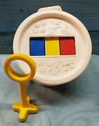 Vintage Fisher Price Toys Xylophone Drum 1976 Baby Toddler Musical Toy Free Ship