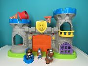 Fisher Price Little People Mighty King's Castle With Sound And Figures