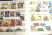 Stamp Collection X 650 Birds Wildlife Butterfly Flowers Cats Dogs Fish Animals