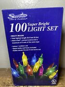 New 100 Mini Lights Multicolor Christmas Light Strand 20.5andrsquo Replacement Bulbs