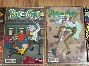 Comic Book Bundle Rick And Morty 1-6 1st Edition The Amazing Spider-man Limited Ed