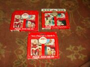 6 Decks Of Vintage Coca Cola Playing Cards - 4 Diff Designs - Free Ship