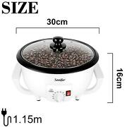 Coffee Roaster Electric Bean Baked Peanut Dryer Machine Cafe Grain Stove