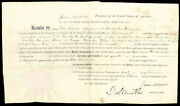 James Madison - Land Grant Signed 01/01/1811 With Co-signers