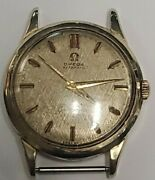 Old Vintage Omega Seamaster Automatic 14k Yellow Gold 17j Swiss .585 Gold Swiss