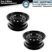 Dorman 16 Inch Steel Replacement Wheel Rim New Pair For 04-09 Nissan Quest