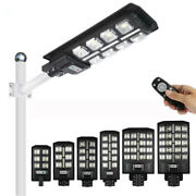 5pcs Integrated All In One Led Solar Street Light Road Lamp Outdoor With Remote