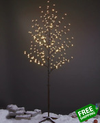 Lightshare 6.5 Feet 208l Led Lighted Cherry Blossom Tree Warm White Decorate H