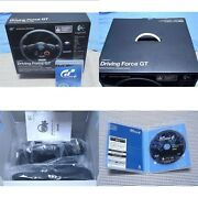 Logitech Driving Force Gt In Box Bundle + Gran Turismo 6 Ps3 Game Japanese Ver.
