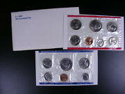 U.s. Coins - 1981 Uncirculated Set With 2 Susan B Ant Dollars - 13 Coins  Gs137