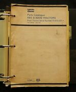 1971-80 Case David Brown Model 885 And 885n Tractor Parts Catalog Manual Clean