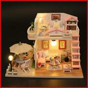 Doll House Wooden Small Gifts Xmas Gift Toy Large Dollhouse Furniture Hot Sale