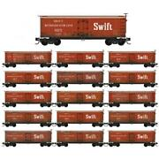 Mtl 993 01 925 N 36and039 Wood Sheathed Ice Reefer 16-pack Weathered Swift