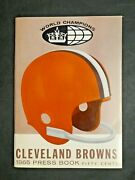 1965 Cleveland Browns Media Press Guide
