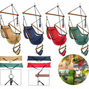 New Portable Deluxe Hammock Hanging Patio Tree Swing Chair Outdoor Lounge W/bag