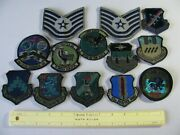 U.s. Air Force Uniform Patch Grouping / Lot Deal Nice A