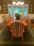 Ethan Allan Complete Dining Room Set Wood Excellent Condition