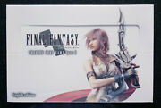 Final Fantasy Tcg Opus 1 Sealed Booster Box English Mint Out Print