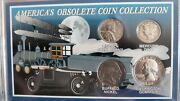 America's Obsolete Coin Collection Ssca Set Of 4 Old Coins Mercury Dime +