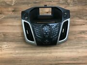 Ford Oem Focus Front Radio Stereo Headunit Face Aux Control Switch 2012 2013