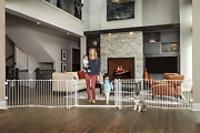 Regalo 192-inch Double Door Super Wide Adjustable Baby Gate And Play Yard, 4-in-
