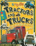 Busy Kids Tractors And Trucks Sticker Activity Book By Chris Scollen