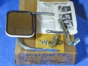 1961-1966 Ford Truck Small Western Outside Mirror Package Nos Nors
