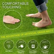 Artificial Grass Mat Synthetic Landscape Fake Synthetic Turf Lawn Carpet Model